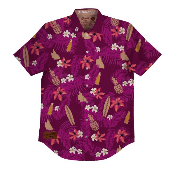 Iconic Queensland BBQ Shirt – Mens