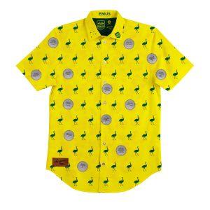 Aussie Emus BBQ Shirt – Mens