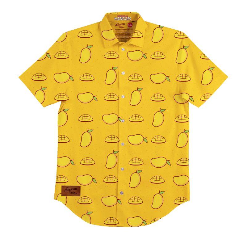 Beers & Mangoes BBQ Shirt – Mens