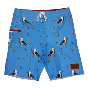 Beach Chicken Board Shorts – Mens