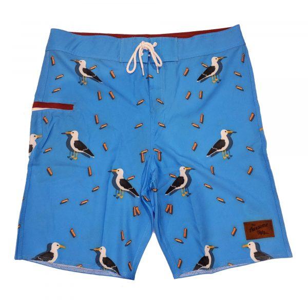 Beach Chicken Board Shorts – Mens