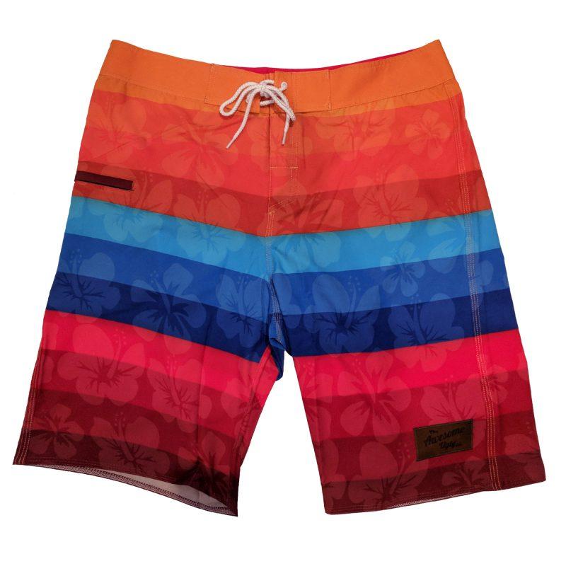 Rainbow Board Shorts – Mens