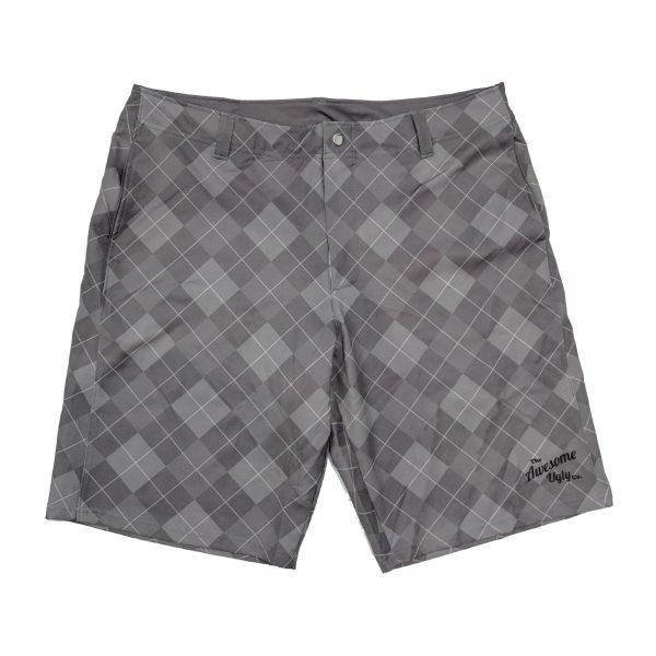 Dark Grey 19th Hole Casual Golf Shorts – Mens