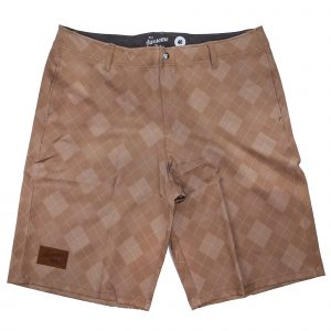 Tan 19th Hole Casual Golf Shorts – Mens