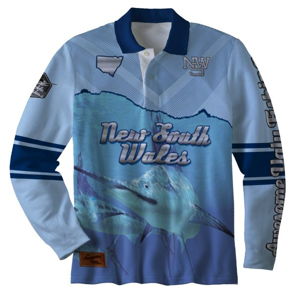 NSW Deep Blue Sea Tackle Master Shirt – Mens