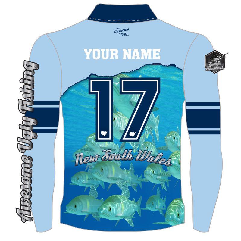 NSW Deep Blue Sea Tackle Master Shirt – Mens