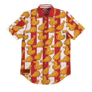 Fried Chicken BBQ Shirt – Mens