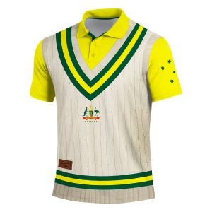 Aussie Backyard Cricket Shirt – Mens