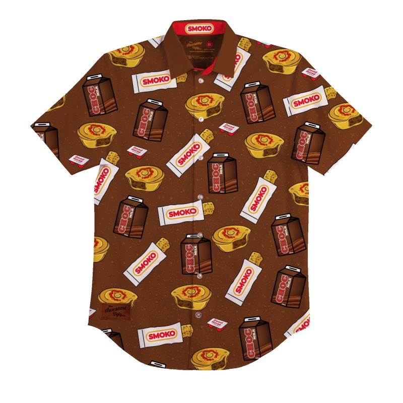Smoko BBQ Shirt – Mens