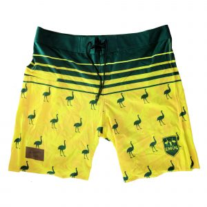 Aussie Emus Board Shorts – Mens
